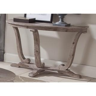 Greystone Mill Stone Washed Half Moon Sofa Table