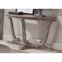 Maison Rouge Hamilton Stone White Wash Brush Sofa Table