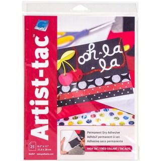 Grafix ArtistTac 8.5inX11in 25/Pkg