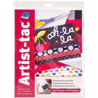 Grafix ArtistTac 8.5inX11in 25/Pkg|https://ak1.ostkcdn.com/images/products/10554323/P17633355.jpg?impolicy=medium