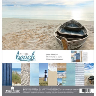 Paper House Paper Crafting Kit 12inX12inAt The Beach