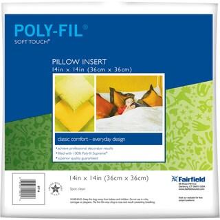 Soft Touch DownLike Pillowform14inX14in FOB: MI