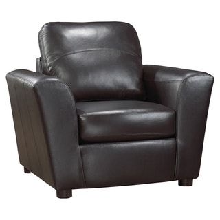 Augusta Italian Leather Side Chair