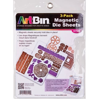 ArtBin Magnetic Sheets 3/Pkg7.325inX9.125in