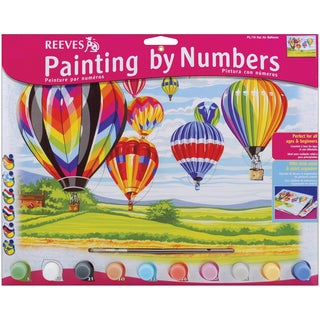 Paint By Number Kit 12inX16inHot Air Balloons