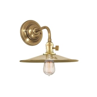 Hudson Valley Heirloom MS1 1-light Brass Wall Sconce