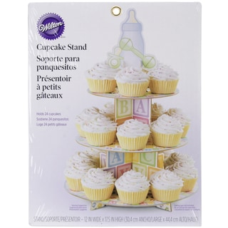 Treat StandBaby Feet 12inX17.5in Holds 24 Cupcakes