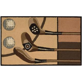 Nourison Everywhere Taupe Accent Rug (1'6 x 2'6)