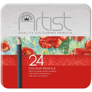 Fantasia Premium Colored Pencil Set 24pc