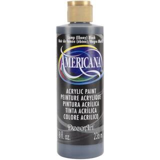 Americana Acrylic Paint 8ozLamp (Ebony) Black