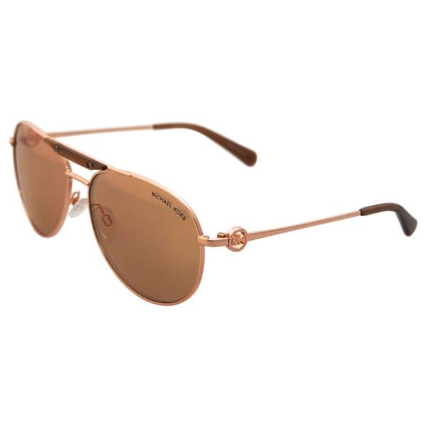 e9e78da0a16ef Shop Michael Kors MK5001 Zanzibar - Rose Gold - 58-14-135 mm Sunglasses -  Free Shipping Today - Overstock.com - 10554688