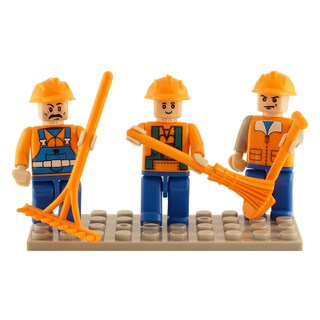 Brictek Farm 3 Mini-Figurine Set