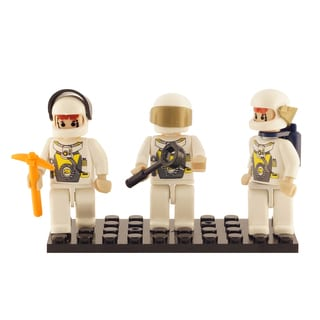 Brictek Space Team 3 Mini-Figurine Set