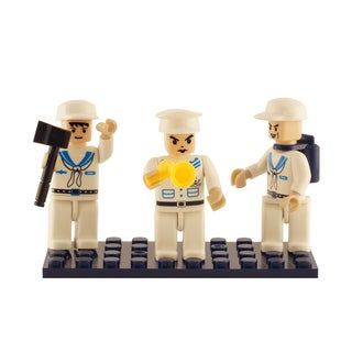 Brictek Navy 3 Mini-Figurine Set