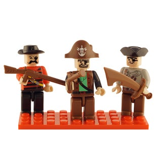 Brictek Pirates 3 Mini-Figurine Set