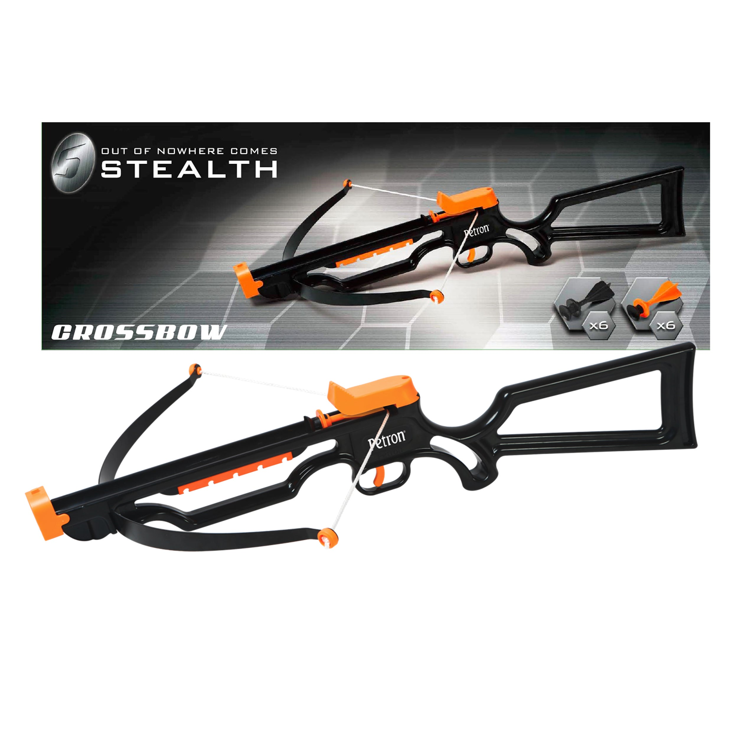 PETRON Stealth Crossbow (1), Silver steel