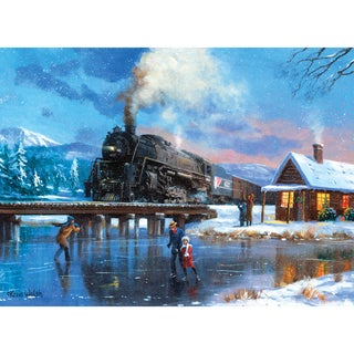 Paint By Number Kit 15.375inX11.25inWinter Magic