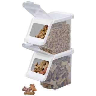 Buddeez Stackable Pet Treat Bin