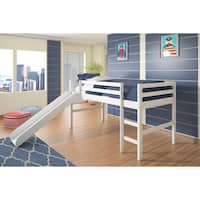 Donco Kids Pine Twin Loft with Slide