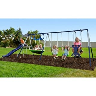 Sportspower Rosemead Metal Swing Set|https://ak1.ostkcdn.com/images/products/10554896/P17633948.jpg?impolicy=medium