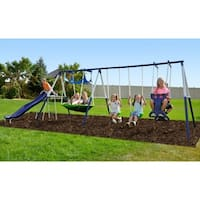 Sportspower Rosemead Metal Swing Set