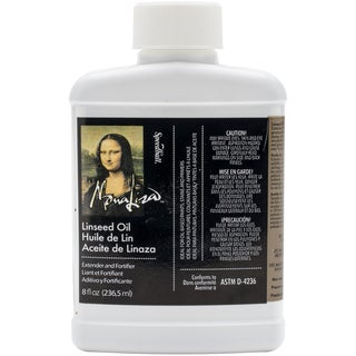Mona Lisa Linseed Oil8oz
