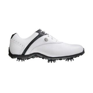 FootJoy Women's LoPro White/ Black Golf Shoes