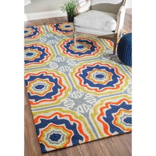 nuLOOM Handmade Spanish Tiles Indoor/ Outdoor Multi Rug (6' x 9')