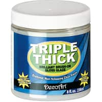 Triple Thick Brilliant BrushOn Gloss Glaze 8oz