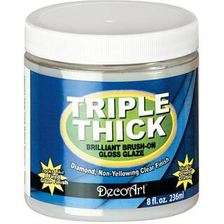 Triple Thick Brilliant BrushOn Gloss Glaze 8oz