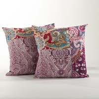 Jamawar Design Pillow Set of 2