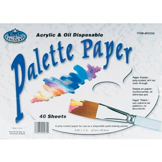 Palette Paper Pad 8.25inX11.5in40 Sheets