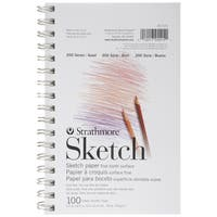 Strathmore Sketch Spiral Paper Pad 5.5inX8.5in100 Sheets