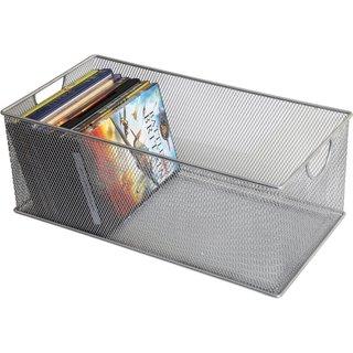YBM Mesh Media Storage Bins