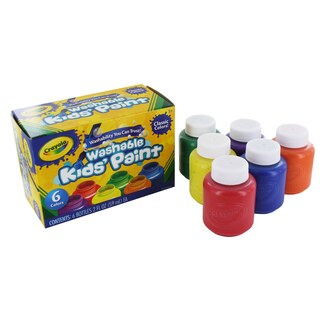 Crayola 6-pack Washable Kid's Paint