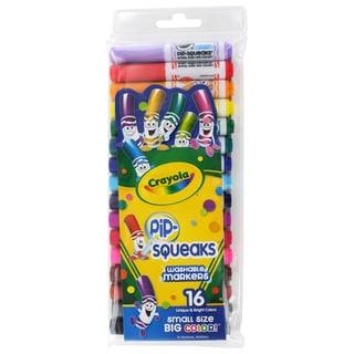 Crayola Wash Pip-Squeaks 16-pack Broad Tip Markers