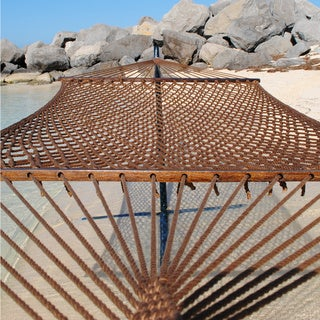 Caribbean Rope Hammock - 55 Inch - Soft-Spun Polyester