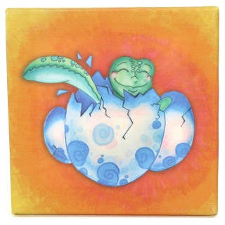 Growing Kids Sea Turtle Journey Series Canvas Wall Art - Hatchling