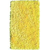 Shaggy Raggy Yellow Neon Rug (4.7' x 7.7')