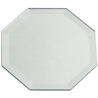 Octagon Glass Mirror W/Bevel Edge Bulk8in