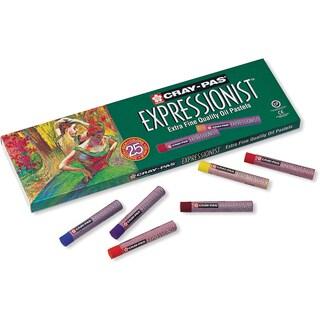 CrayPas Expressionist Oil Pastels 25/PkgAssorted Colors