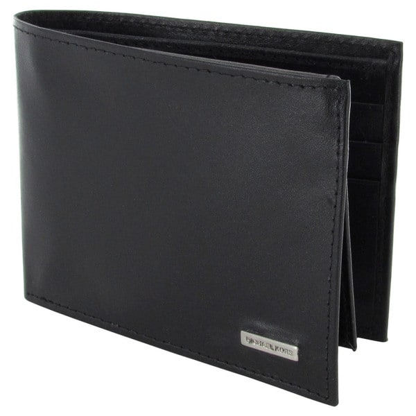 4cd33c2fc14a Michael Kors Mens Wallet Review. Shop Michael Kors Mens 2930325 Passcase  Wallet - Free Shipping ...