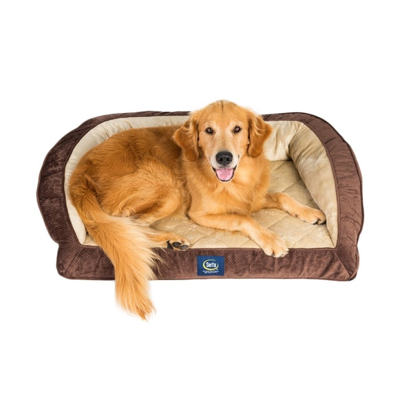 Serta Dog Quilted Couch Extra Large