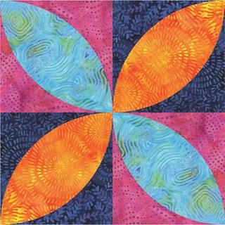 Go! Fabric Cutting DiesOrange Peel 4.5inX4.5in