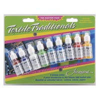 Jacquard Textile Traditionals Exciter Pack .5oz 9/Pkg