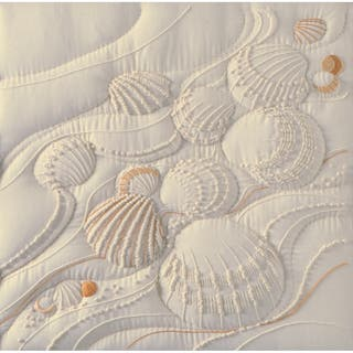 Ocean's Edge Candlewicking Embroidery Kit14inX14in Stitched In Thread https://ak1.ostkcdn.com/images/products/10555501/P17634390.jpg?impolicy=medium