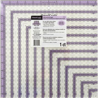 OmniCraft Square Up Ruler12.5inX12.5in