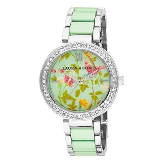 Laura Ashley Women's Floral Print Watch