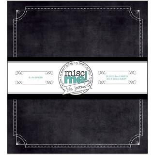Misc Me Binder Life Journal 8inX9inBlack