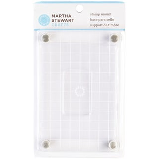 Martha Stewart Medium Footed Stamp Mount4.25inX6.5in